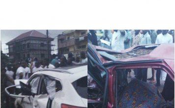 Accident de circulation en Guinee conakry