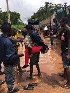 Conakry sous la pluie