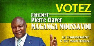 Pierre claver maganga Gabon