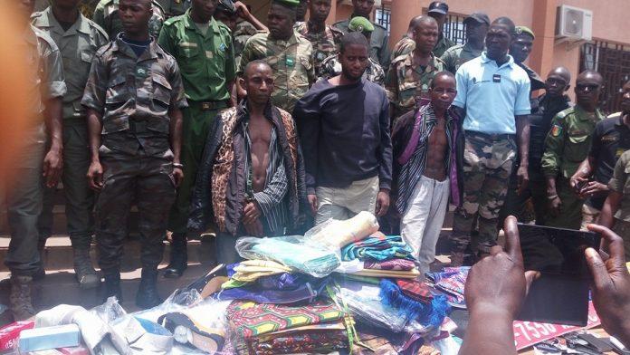 Bandit coupeur des routes Mamou Guinee