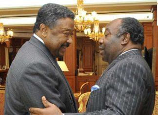 Ali bongo et Jean ping Gabon
