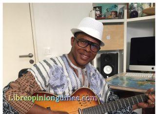 Doura Barry artiste Guinéen photo Libreopinionguinee