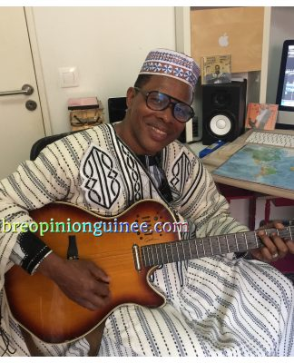Doura Barry artiste Guinéen photo Libreopinionguinee