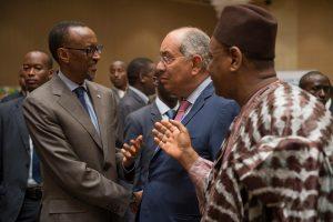 image Paul Kagamé et Lansana Kouyate Guinée