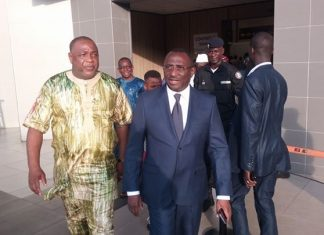 Sidya Toure et Baidy Aribot Ufr