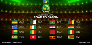 CAN 2017 GABON TIRAGE