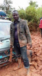 Route dégradé en Guinee
