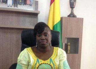 Domani Doré ancienne ministre des sports photo Libreopinionguinee