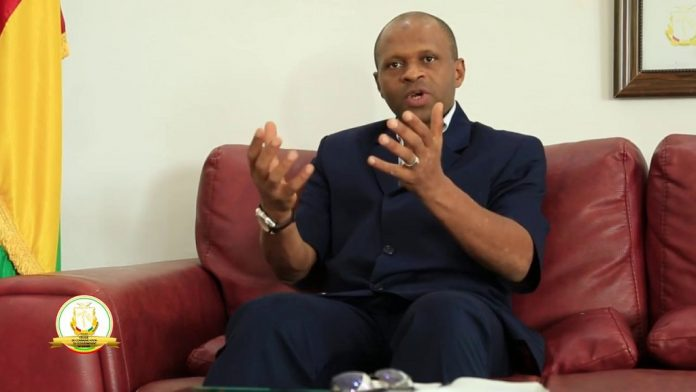 Abdoulaye Yero Balde Ministre le l'enseignement