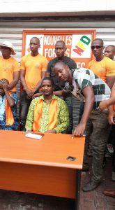 Meeting de Nfd à son siège à Bambeto