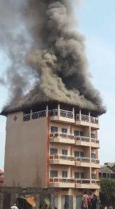 Immeuble prend feu sonfonia t 8
