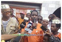 Mouctar Diallo au siège de NFD à Bambeto