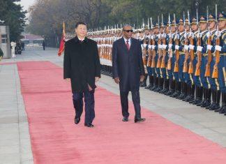 Alpha Conde en Chine