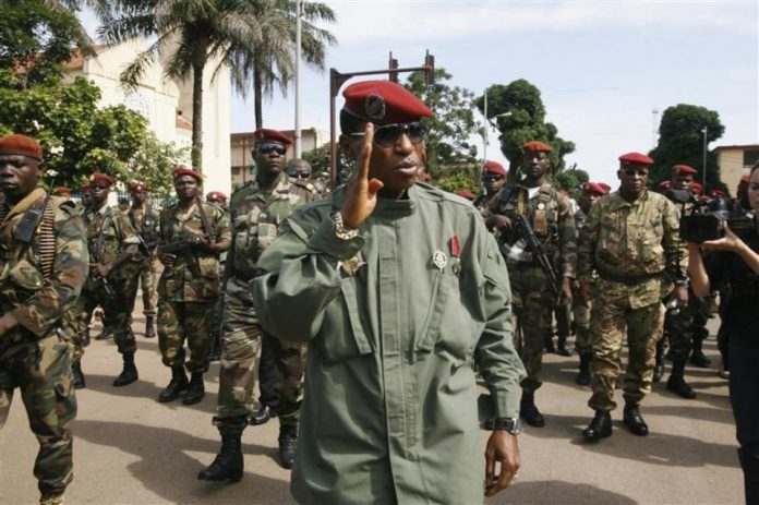 Moussa Dadis Camara Guinée