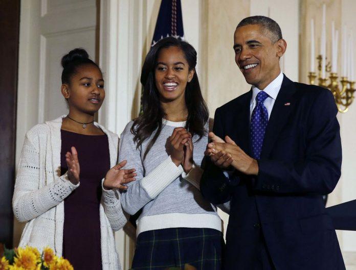 Barrack Obama est ses enfants
