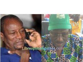 Fodé Bangoura et Alpha Conde
