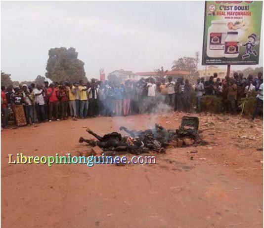 Deux présumés bandits lynchés à Siguiri