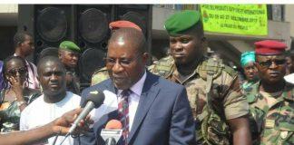 Mathurin Bangoura gouverneur de Conakry