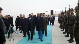 Alpha Conde en Turquie
