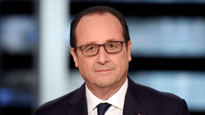François hollande président de la France