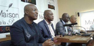 Conférence de presse du Rpg arc-en-ciel, Guinée