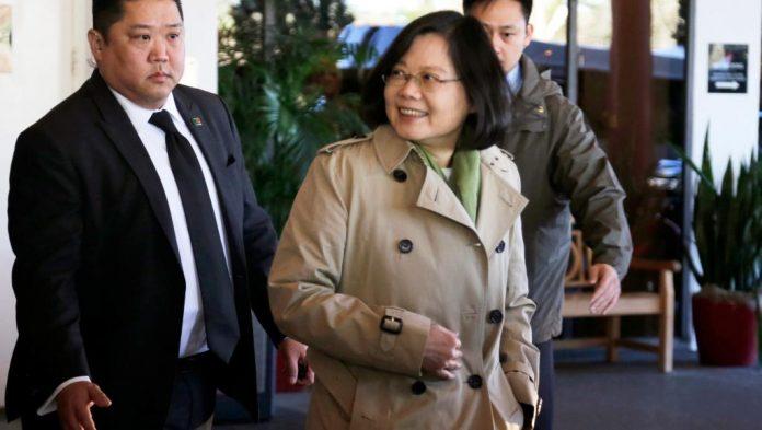 La présidente taïwanaise Tsai Ing-wen