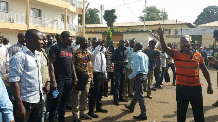 Guinée des Enseignant gréviste