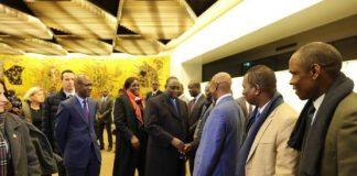 Macky Sall président du Sénégal à Paris