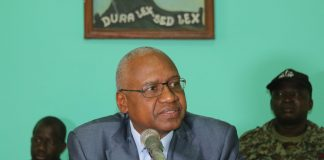 Me cheick Sacko Ministre de la justice Guinée