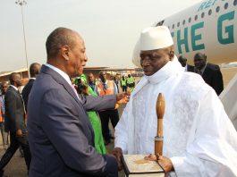 Alpha Conde et yahya Jammeh