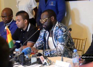Maitre Gims à Conakry