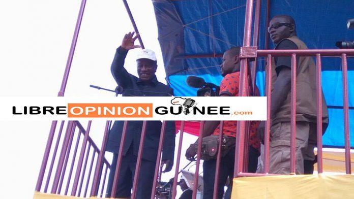 Alpha Condé à Kankan libreopinionguinee.com