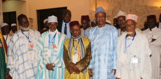 Alpha Conde et des imames