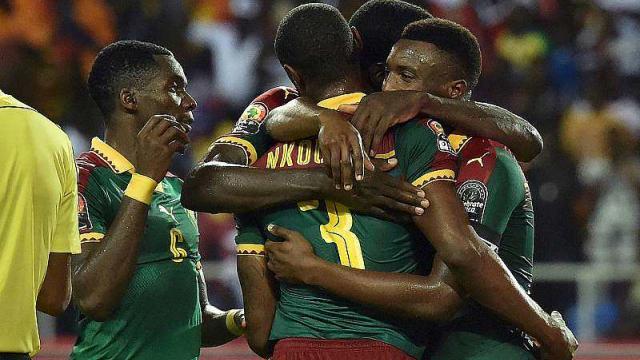 L'équipe du Cameroun à la CAN 2017 au Gabon