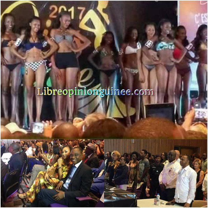 Élection miss Guinée