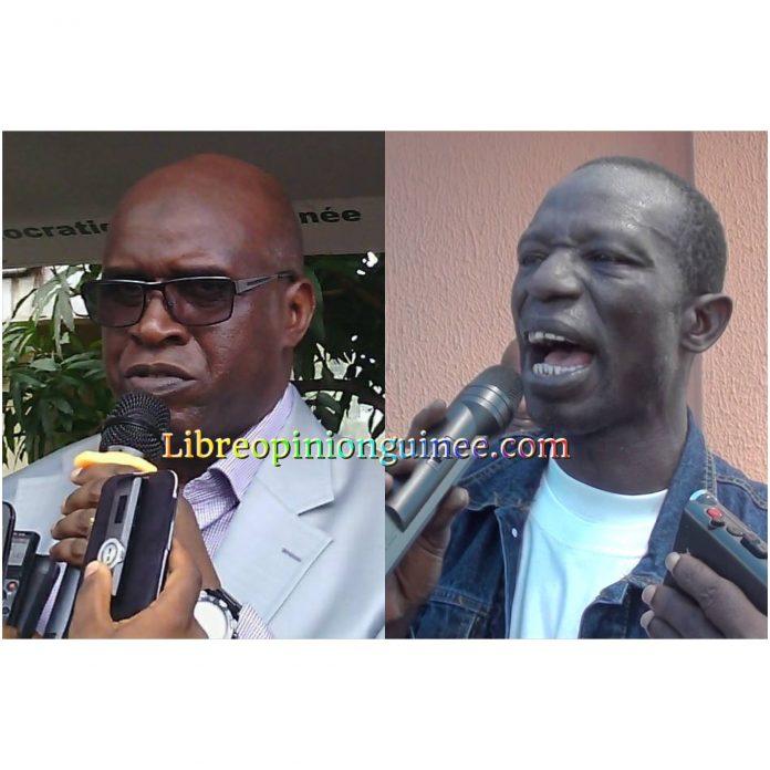 Aboubacar Soumah député de l'ufdg et Fode Oussou Fofana