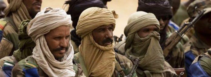 Rebelle touareg Mali, image d'archive