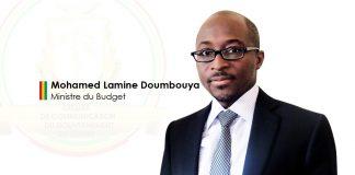 Mohamed lamine Doumbouya ministre du budget