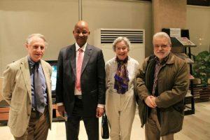 Cellou Dalein au forum économique d'Abidjan