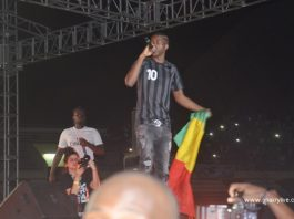 MHD en concert en Guinée Conakry au stade de Nongo le 25 mars 2017