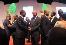 Sidya Toure, Cellou Dalein, Alpha Conde et Alhassane ouattara à Abidjan