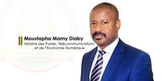 Moustapha Mamy Diaby ministre de la télécommunication