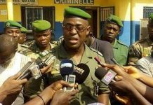 Commandant Mamadou Alpha Barry gendarmerie nationale