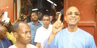 Cellou Dalein à Dakar