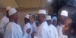 Cellou Dalein Diallo et Bah Ousmane