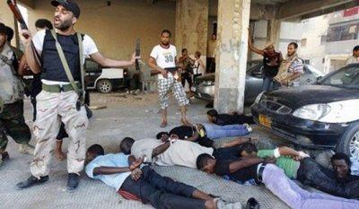 Esclaves des migrants noirs en Libye