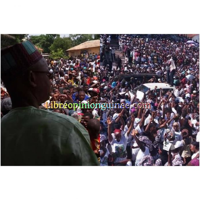 Cellou Dalein Diallo à Kisdidougou