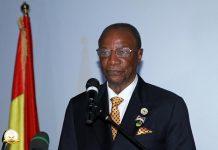 Alpha Conde President de la Guunée