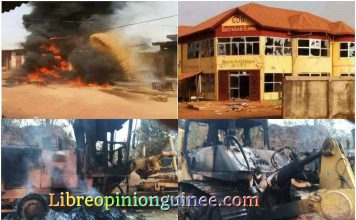 Violence à Boké Guinée