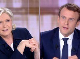 Emmanuel Macron et Marine Le-Pen